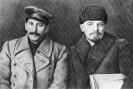 Ленин и Сталин на VIII съезде РКП(б). Март 1919 г.