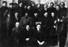 Ленин и Сталин среди делегатов VIII съезда. Март 1919 г.