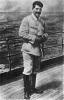 И.В.Сталин на палубе крейсера