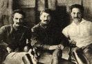 Орджоникидзе, Сталин, Микоян. 1925 г.