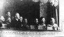 Сталин и члены ЦК в Большом Театре
