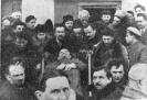 Члены ЦК несут гроб с телом Ленина. 27.01.1924г.
