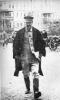 И. В. Сталин по дороге в Большой театр на съезд