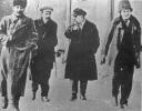 И. Сталин, А. Рыков, Л. Каменев и Г. Зиновьев . Петроград. Смольный. 1917 год_1