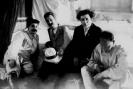 И. В. Сталин, А. И. Рыков и Г. Е. Зиновьев и Ф. Э. Дзержинский. Москва. 1924г.