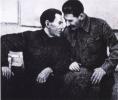 И. В. Сталин и Н. И. Ежов