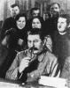 И. В. Сталин среди делегатов съезда колхозников