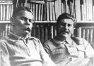 И. В. Сталин и А. М. Горький