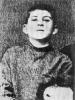 И.Джугашвили - учащийся  Горийского духовного  училища. 1890 г.