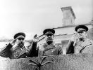 На параде Победы. 1945 г.