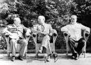 На конференции в Постдаме. 1945 г.