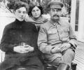 Сталин с сыном Василием и дочерью Светланой