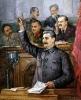 Доклад Сталина на 9 чрезвычайном съезде Советов по проекту Конституции СССР
