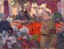 Сталин у гроба Ленина