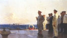 Сталин на крейсере