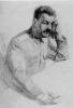 Набросок к портрету Сталина