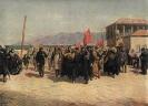 Сталин возглавляет демонстрацию в Батуме