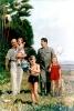 Сталин и Молотов с детьми