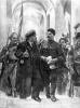 Прибытие Ленина в Смольный ночью 24 октября