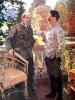 Ленин и Сталин в Горках в 1922 году