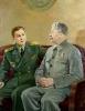 И. В. Сталин с сыном Василием_1