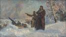 И.В. Сталин на оборонительных рубежах под Москвой_1