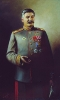 Портрет И. В. Сталина в форме генералиссимуса
