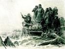 Товарищ Сталин на строительстве оборонительных рубежей под Москвой