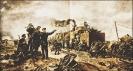 И. В. Сталин и К. Е. Ворошилов у бронепоезда на Царицынском фронте
